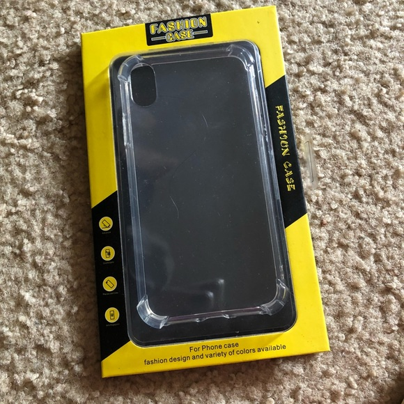 Other - iPhone XR Crystal Clear soft Case
